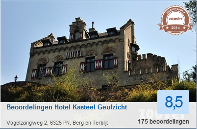 Reviews hotel kasteel geulzicht, kasteelhotel in Berg en Terblijt
